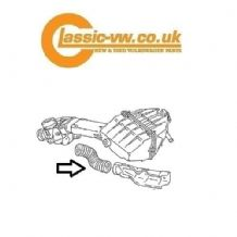 Manifold To Airbox Link Pipe 049129627S Mk1/2 Golf, Scirocco, Caddy, Jetta,